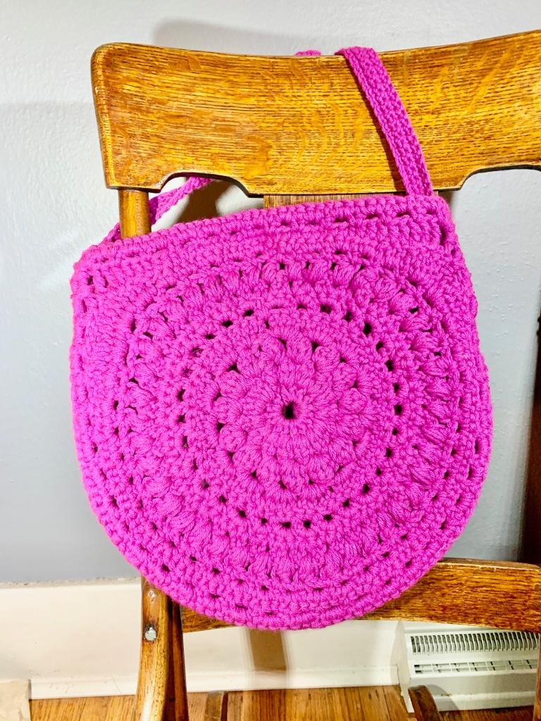Cute Boho Crochet Purse